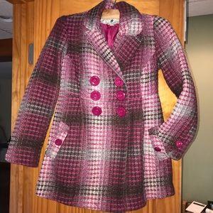 Joie Pink Pea Coat
